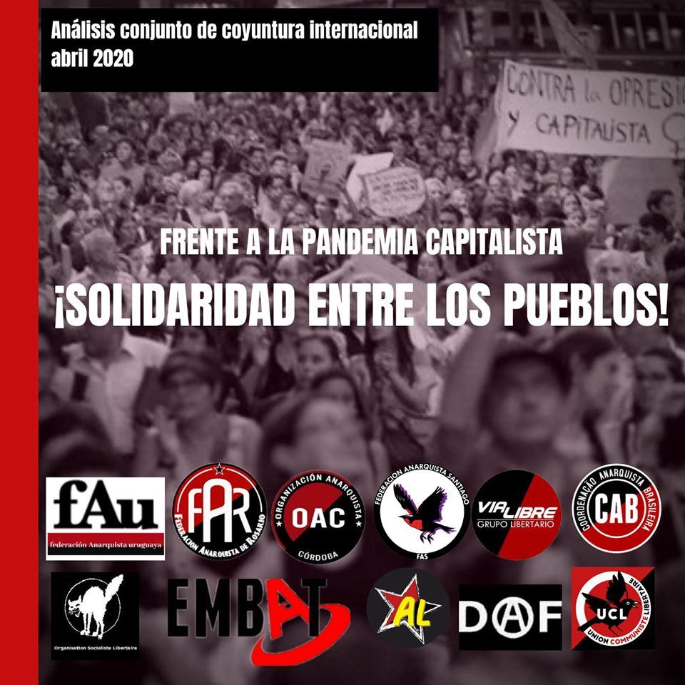 Against the Capitalisitc Pandemic, Solidarity between people